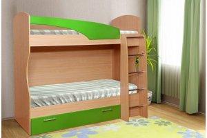 Кровать детская 2х ярусная - Мебельная фабрика «ДиВа мебель»
