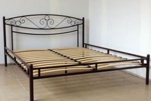 Кровать металлическая Адель 2 - Мебельная фабрика «Гайвамебель»