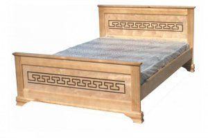 Кровать Афина из массива сосны - Мебельная фабрика «Мебель Мастер»