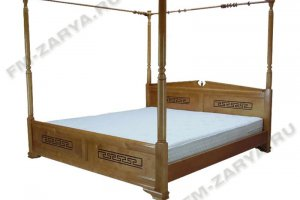 Кровать Афина с балдахином - Мебельная фабрика «Заря», г. Ковров
