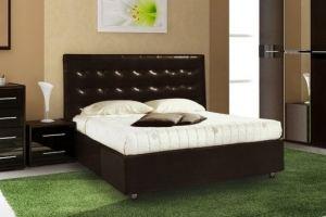 Кровать черная Афродита - Мебельная фабрика «ИЛ МЕБЕЛЬ»