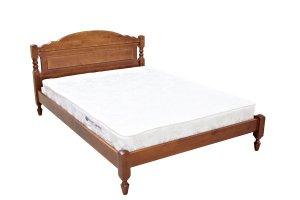 Кровать Александра (спинка волной) - Мебельная фабрика «Коралл»