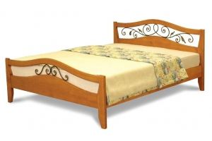 Кровать Алиса ковка - Мебельная фабрика «Святогор Мебель»