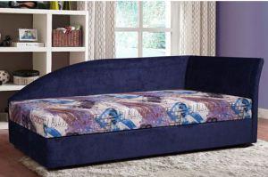 Кровать Алиса с боковым щитом - Мебельная фабрика «Заславская»