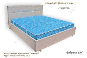 Кровать Арт+дерево - Мебельная фабрика «ВЭФ»