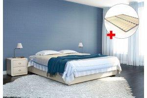 Кровать Аврора с ортопедической решеткой - Мебельная фабрика «Perrino»