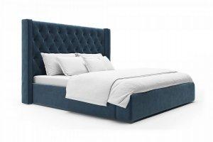 Кровать B-04 с каретной стяжкой - Мебельная фабрика «Новый век»
