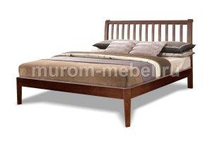 Кровать Беатрис бук Т001105 - Мебельная фабрика «Муром-мебель»