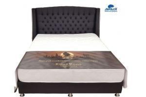 Кровать Бокс спринг Богема 2 - Мебельная фабрика «Морфей»