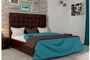 Кровать дизайн Бруно - Мебельная фабрика «ИЛ МЕБЕЛЬ»