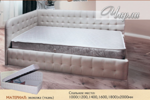 Кровать Чарли - Мебельная фабрика «Селена»