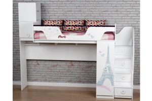 Кровать-черадак Модница 4 - Мебельная фабрика «Династия»