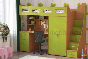 КРОВАТЬ-ЧЕРДАК BAMBINI 28 - Мебельная фабрика «Happy home»