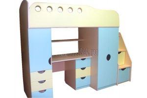Кровать-чердак детская - Мебельная фабрика «Фаворит»
