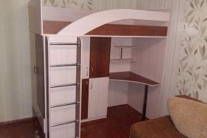 Кровать-чердак для детской - Мебельная фабрика «Святогор Мебель»