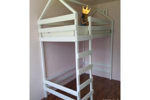 Кровать-чердак Игра с крышей домиком - Мебельная фабрика «Кроваткин18»