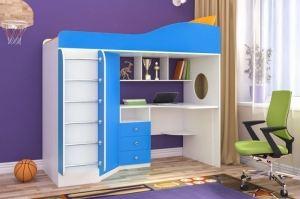 Кровать чердак Кадет 1 - Мебельная фабрика «ЯРОФФ»