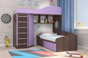 Кровать чердак Кадет 2 - Мебельная фабрика «ЯРОФФ»