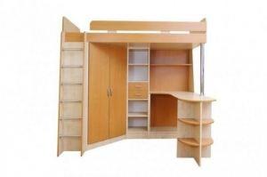Кровать-чердак Карлсон - Мебельная фабрика «Балтика мебель»