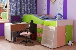 Кровать-чердак КЧ1 - Мебельная фабрика «ВикО Мебель»