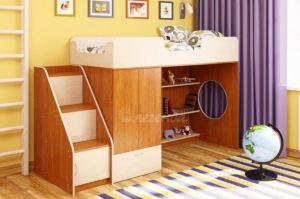 Кровать чердак Легенда 3.5 - Мебельная фабрика «Легенда»