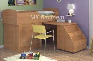 Кровать-чердак Малыш-2 - Мебельная фабрика «Бастет»