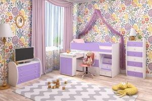 Кровать чердак Малыш - Мебельная фабрика «ЯРОФФ»