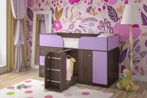 Кровать чердак Малыш 4 - Мебельная фабрика «ЯРОФФ»