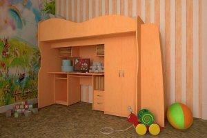 Кровать-чердак Мечта - Мебельная фабрика «ТФМ XXI»