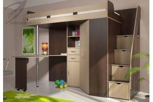 Кровать-чердак Мийа - Мебельная фабрика «Стиль»