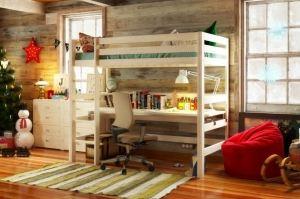 Кровать-чердак Модель 12 - Мебельная фабрика «DOMUS MIA»