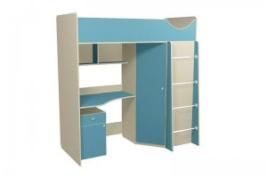 Кровать-чердак Находка 3 - Мебельная фабрика «Мебель от Михаила»