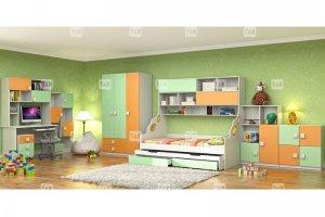 Кровать чердак Pinny Green - Мебельная фабрика «ТомиНики»
