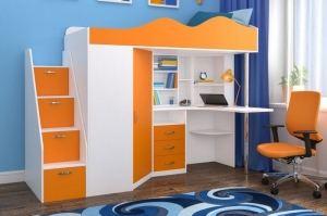 Кровать чердак Пионер - Мебельная фабрика «ЯРОФФ»