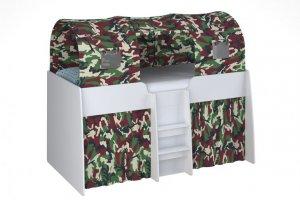 Кровать-чердак Polini Simple для мальчика - Мебельная фабрика «Воткинская промышленная компания»