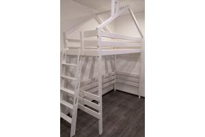 Кровать-чердак Праздник - Мебельная фабрика «Кроваткин18»