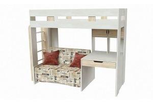 Кровать-чердак Соня - Мебельная фабрика «Приволжская»