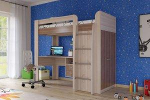 Кровать чердак Степ - Мебельная фабрика «Гранд Кволити»
