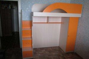 Кровать-чердак в детскую - Мебельная фабрика «Агата»
