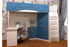 Кровать-чердак в детскую - Мебельная фабрика «НАРУС»