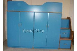 Кровать-чердак в детскую - Мебельная фабрика «Фаворит»