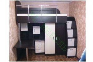Кровать-чердак в детскую - Мебельная фабрика «KL-Мебель»