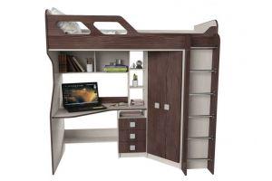 Кровать-чердак Вега-1 - Мебельная фабрика «Квадрат»