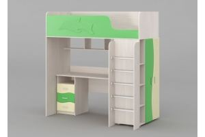 Кровать-чердак Юнга - Мебельная фабрика «Комодофф»