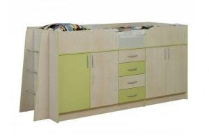 Кровать-чердак Юнга-3 - Мебельная фабрика «Балтика мебель»