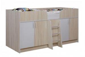 Кровать-чердак Юнга-4 - Мебельная фабрика «Балтика мебель»