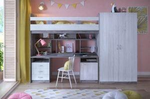 Кровать чердак Юта 1 - Мебельная фабрика «ЯРОФФ»