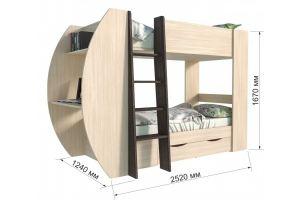 Кровать-чердака Анеси-2 - Мебельная фабрика «ИнтерЛиния»