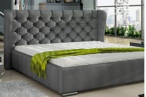 Кровать CKROV 4 в каретной стяжке - Мебельная фабрика «Уют»