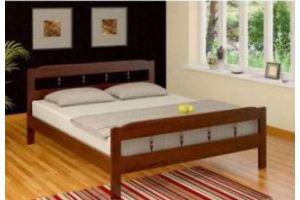 Кровать Дачная 90на200 - Мебельная фабрика «Верба-Мебель»